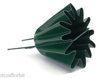 En métal vert Henly Star Oasis Floral robuste Tombe Vase Mémorial Pot de fleur Henley