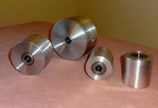 "Knife Making:Belt Sander Wheel Set 3/4"" drive wheel bore.Premium ABEC-7 Bearings"