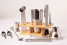 Bartender Kit - Cocktail Shaker Kit With Bar Accessories - Stainless Steel