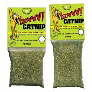 Yeowww 100% Organic Catnip Bags 3 Sizes Available