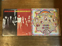 Lynynrd Skynyrd 2 LP Lot in Shrink - Gimme Back My Bullets & Second Helping