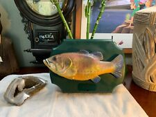 Big Mouth Billy Bass Singing Fish Man Cave Retro Take Me To The River Dont Worry