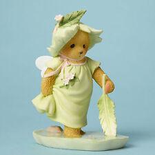 Cherished Teddies 'Stirring Up Some Fairy Fun' Bear Fairie with Leaf L4044689