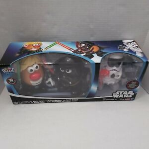 Star wars Mr. Potato Head Exclusive Luke Frywalker Skywalker Darth Vader Tater