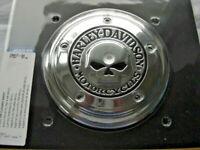 Harley Davidson Skull Totenkopf Luftfilter Cover Zierblende chrom 29417-04