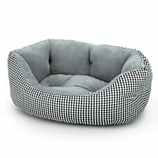 Dog Bed for Small Dogs, Machine Washable Round Dog Beds Super Soft Durable Fla.