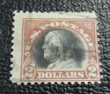 nystamps US Stamp # 523 Used $250 Franklin