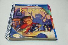 Houghton Mifflin Harcourt Texas Journeys Grade 4 Teacher's Edition All 6 Volumes