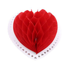 Chinese Wind Paper Love Heart Lantern Hanging Pendant Ornament Wedding Decor