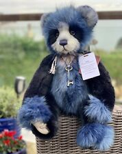 Lee Plumo (plush & mohair) Collection By Charlie Bears
