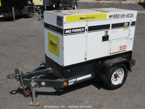 2015 Multiquip DCA-25SSIU4F 20 kW Towable Diesel GeneratorS/A bidadoo -Repair