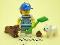 LEGO Collectable Mini Figure Series 19 - Dog Sitter 71025-9 COL350 R991