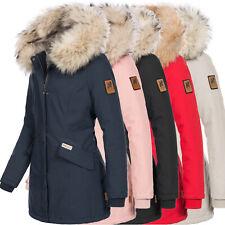 Navahoo Jacke Winter Damen Wintermantel Mantel Parka Winterjacke Luxus OMCRISTL