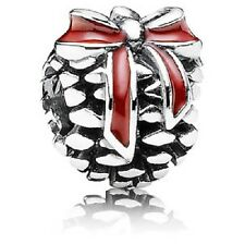NEW AUTHENTIC PANDORA Sterling Silver Pinecone winter charm 791237EN39