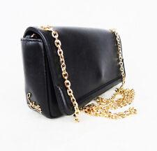 CHRISTIAN LOUBOUTIN Black leather crossbody bag