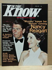 In The Know Magazine 1976 April Ronald Nancy Reagan Holly Woodlawn Bruce Jenner