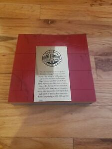 Chicago Bulls Game Used Stadium Floor 6x6 Pieces Michael Jordan