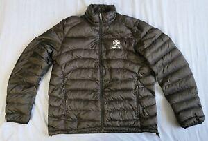 """Ralph Lauren RLX Men's Dark Black Down Jacket Coat Size 44"""" Good Used Condition"""