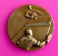 """Médaille en Bronze """"Tennis De Table""""/ Réf 1938"""