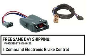5504 Draw Tite Brake control with Wiring Harness 3025 FOR 1992-2002 GM