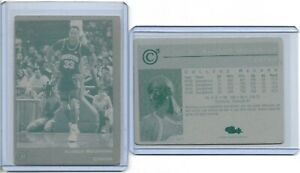 1/1 LOT (2) ALONZO MOURNING 1992 CLASSIC PRINTING PLATES #8 GEORGETOWN HOYAS RC