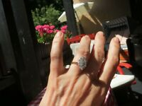 Navette Ring mit toller Brillianz TOP!!!