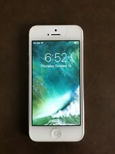 Apple iPhone 5 - 32GB - White & Silver (AT&T) A1428 (GSM) No Reserve