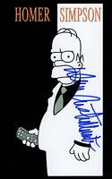 Dan Castellaneta Hand Signed Autograph The simpsons Homer Card 4x6 w/COA