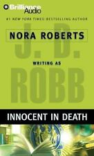 INNOCENT IN DEATH bestselling audio book CD by JD ROBB / NORA ROBERTS  Brand New