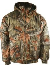MENS INSULATED & WATERPROOF CAMOUFLAGE TANKER JACKET- HUNTING - CAMPING - HIKING