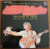 JOHNNY HALLYDAY - Pavillon de Paris - 2LP - Philips - 6681 011 - 1979 -  FR