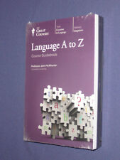 Teaching Co Great Courses  CDs           LANGUAGE  A to Z        new & sealed