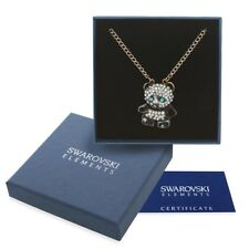 Collana donna oro Swarovski Element originale G4L cristalli strass panda regalo