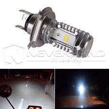 H4/HS1 Hi/Lo 40W 6000K Motorbike UTV LED Bulb DRL Headlight Lamp Universal