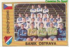 021 TEAM BANIK OSTRAVA CZECHOSLOVAKIA VIGNETTE STICKER EURO FOOTBALL 76 PANINI