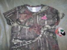 Mossy Oak Break Up Womens Shirt Large Camo Short Sleeve Infinity