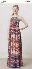NWOT Anthropologie Tarana Maxi Dress