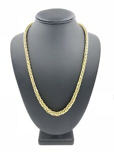 """Tiffany & Co. 18K Yellow Gold Woven Braid Graduated Chain 24"""" Necklace 750"""