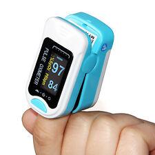 FDA OLED Finger Tip Pulse Oximeter SpO2 Blood Oxygen  Heart Rate Monitor CMS50Na