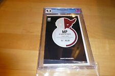 The Manhattan Projects 1 CGC 9.2 THIRD Printing (2012, Image Comics) White Pages
