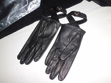 VERSACE Collection Leather Gloves Leather Gloves