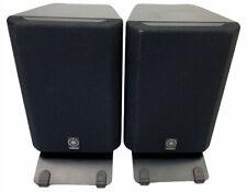 Pair of Yamaha NX-220P Small Stereo Surround / Bookshelf Speakers - 2 Way