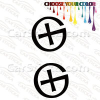 """2 of 5"""" to 20"""" Geocaching Symbol /A car wall bumper window stickers decals"""