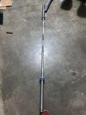 7' Foot 45lb Olympic ( KLOKOVD ) Chrome Weightlifting Barbell- 20KG HTF