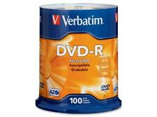 Verbatim 4.7 GB 16X DVD-R 100 Packs Disc Model 95102