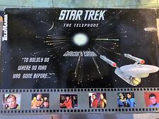VINTAGE TELEMANIA STAR TREK USS ENTERPRISE TELEPHONE NCC-1701 PHONE 1993 NIB