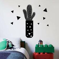 Cactus Desert Plant Triangle Home Room Wall Sticker Vinyl Art Decal Decor Kids