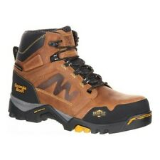 Georgia Boot Men's   Amplitude Waterproof Work Boot Trail Crazy Horse Leather