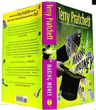 Terry Pratchett: MAKING MONEY (Discworld Novels)— hardcover book— Harper, 2007