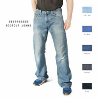 LEVIS DISTRESSED BOOTCUT JEANS DENIM W30 W32 W34 W36 W38 W40